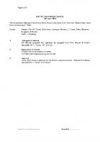 Extra-Ordinary Meeting 28.04.2014
