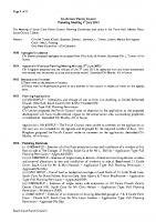 Planning Committee Meeting 01.07.2013