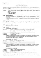 Planning Committee Meeting 02.06.2014