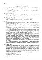 Planning Committee Meeting 03.02.2014
