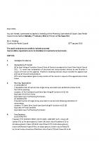 Agenda – Planning Committee – 01.02.2016