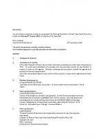 Agenda – Planning Committee – 03.10.2016