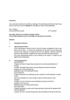 Agenda – Planning Committee -04.07.2016