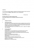 Agenda – Planning Committee – 07.03.2016