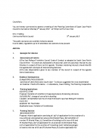 Agenda – Planning Committee – 09.01.17