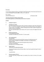 Agenda – Planning Committee – 28.11.2016