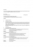 Agenda – Planning Committee – 07.04.2015