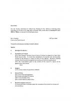 Agenda – Finance & General Policy – 25.04.2016