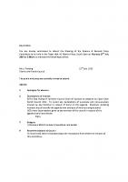 Agenda – Finance & General Policy – 27.07.2015