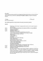 Agenda – Full Council – 18.05.2015