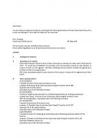 Agenda – Planning Committee – 05.06.2017