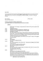 Agenda – Full Council – 20.04.2015