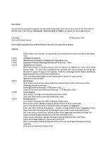 Agenda – Full Council – 21.12.2015