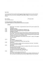 Agenda – Full Council – 16.03.15
