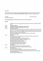 Agenda – Full Council – 21.09.2015