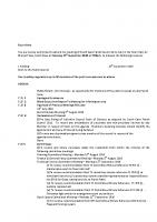 Agenda – Full Council – 19.09.2016