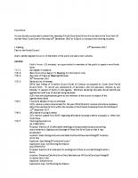 Agenda – Full Council – 20.12.2017