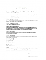 Finance & General Policy minutes 29.04.2019