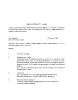 Open Spaces Committee Meeting – 10.2.2020