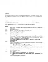 Full Council Meeting – 17.2.20