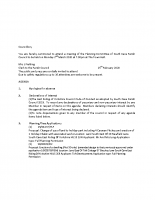 Planning Committee Agenda 02.03.20