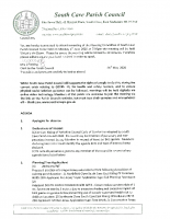 Planning Committee Meeting 1.6.2020