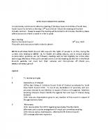 Open Space Committee Meeting – 22.6.20