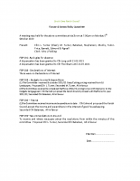 Finance & General Policy Committee Minutes 05.10.20