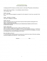 Technical Services Committee 28.09.2020