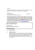 Informal Planning meeting 05.07.21