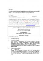Informal Planning meeting 07 06 21