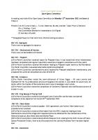 Informal Open Spaces Committee Minutes 13.09.2021